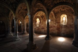 1_Crypt at the Monastery and Imperial Palace Memleben _ Picture_IMG _ Juraj Lipták